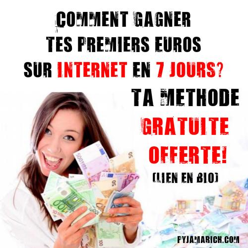 COMMENT GAGNER TES PREMIERS EUROS SUR INTERNET EN 7 JOURS ? * TA MÉTHODE FIVERR GRATUITE OFFERTE*